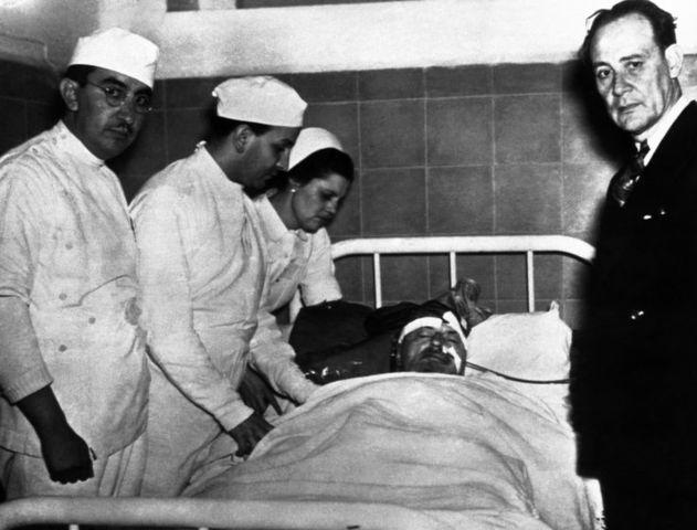 Muerte del trotsky