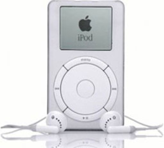 iPod first unveiled