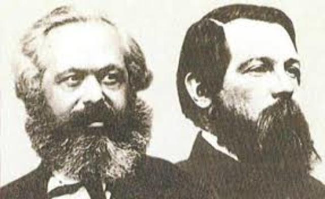 Marx e Engels. Manifesto del Partito Comunista
