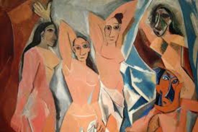 Picasso. Demoiselles d'Avignon