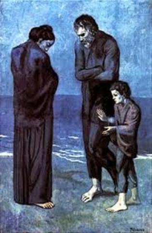 Picasso. Poveri in riva al mare