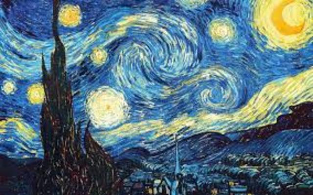 van Gogh. Notte stellata