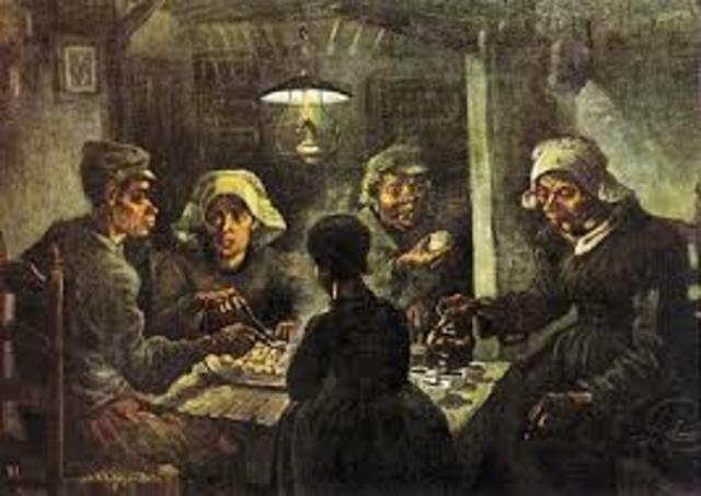 van Gogh. Mangiatori di patate