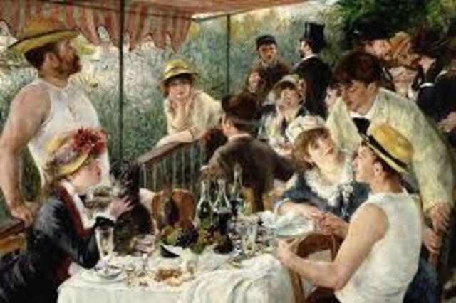Renoir. Colazione dei canottieri