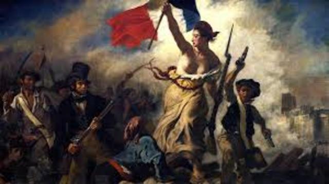 Delacroix. Libertà che giuda il popolo