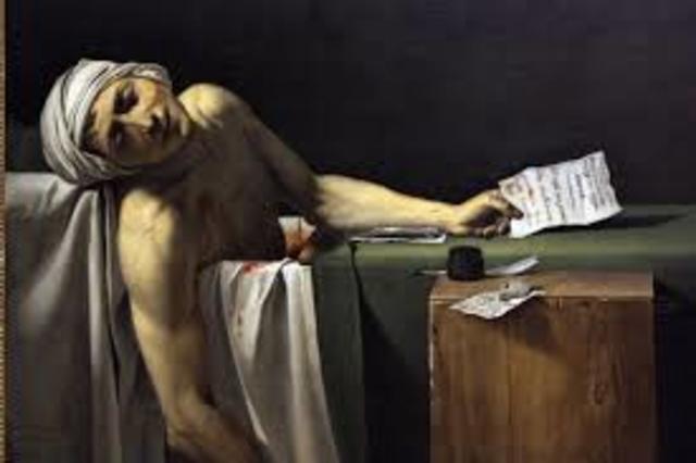 David. Morte di Marat
