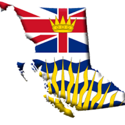 Historic Events of British Columbia timeline