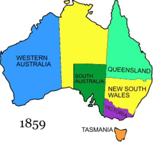 Kylah's Australian Colonisation Timeline | Timetoast timelines