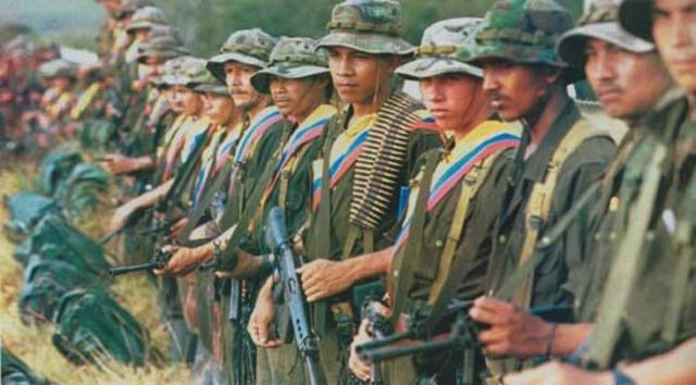 Surgimiento de las guerrillas comunistas