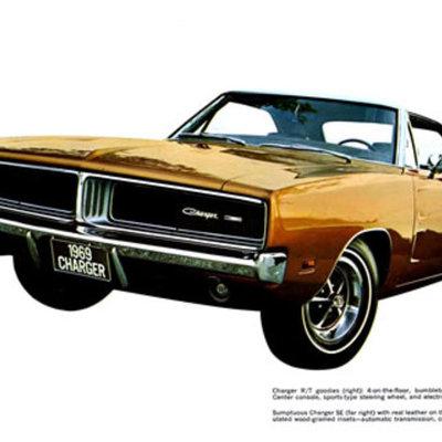 Dodge Charger 1966-1969 timeline