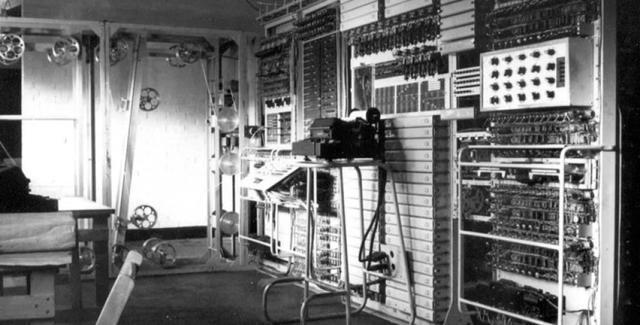 Primer ordenador electrónico