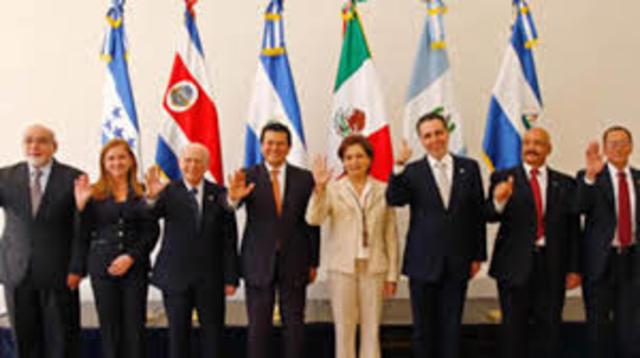 TLC CON CENTRO AMERICA, 01701/2013, Objetivo.- Establecer una zona de libre comercio que permita incrementar los flujos comerciales y de inversión.