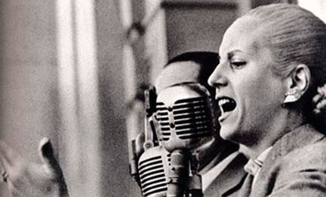 Evita Perón.