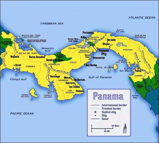 Indemnizacion a Colombia por parte de Panama