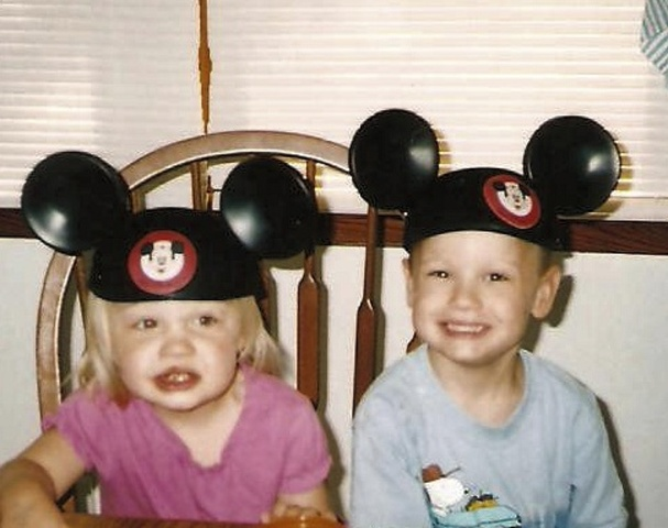 Trip to Disneyworld with my family and grandparents.