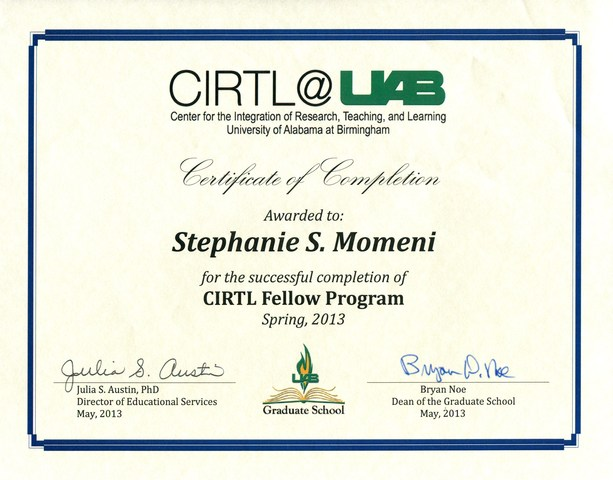 CIRTL Fellow Program