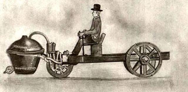 Primer auto a vapor
