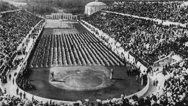 First modern Olympic Games0