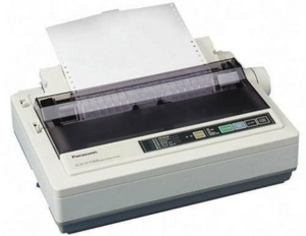 The History Of Computer Printers Timeline