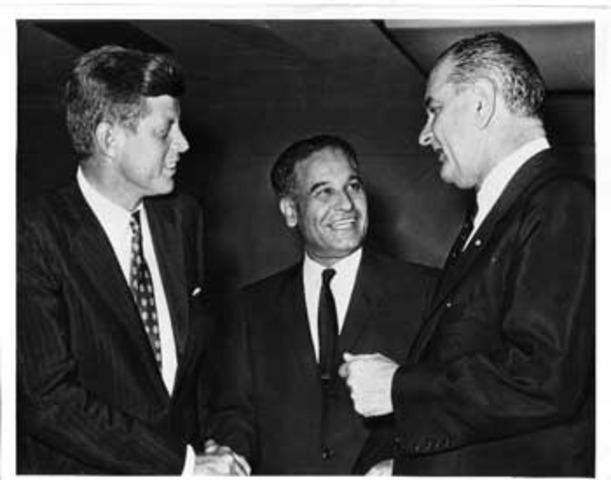Visita del presidente John F. Kennedy