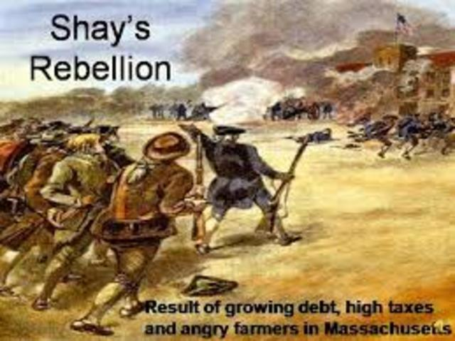 daniel shays s rebellion Shays's and whiskey rebellionstwo short-lived armed uprisings, shays's rebellion and the whiskey rebellion, took place just before and shortly after the creation of the federal constitution.