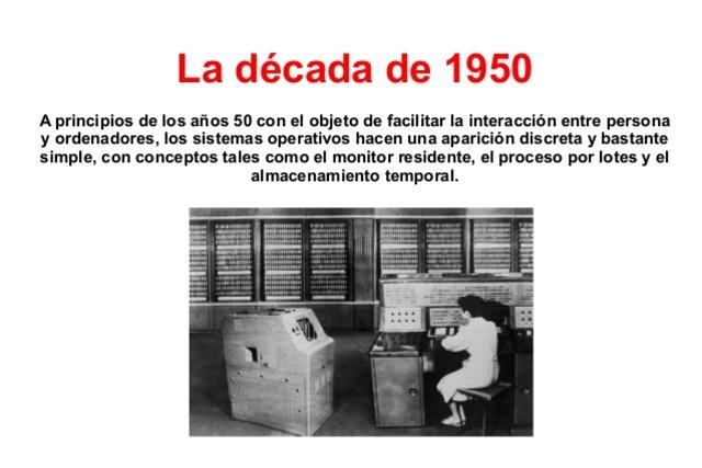 A principios de los años 1950