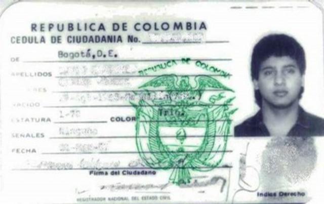 Cédula de Ciudadania