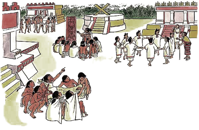 Educacion de los Aztecas