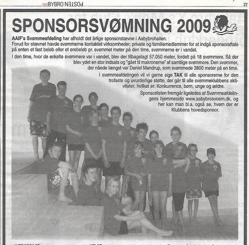 Sponsorsvømning