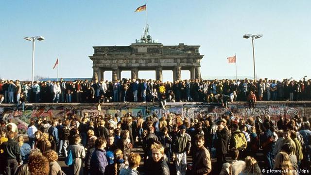 *Fall of Berlin Wall