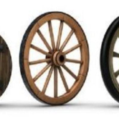 la evolucion de la rueda timeline