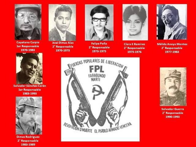 """Fuerzas Populares de Liberación """"Farabundo Martí."""""""
