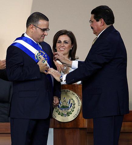 Mauricio Funes nombrado como Jefe de Estado
