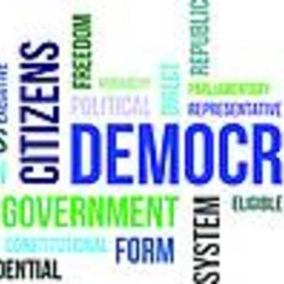 Evolution of Democracy timeline