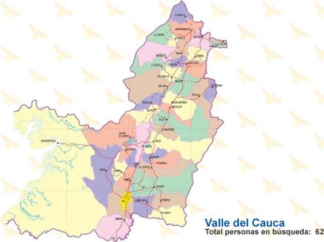 Creación de la provincia del cauca