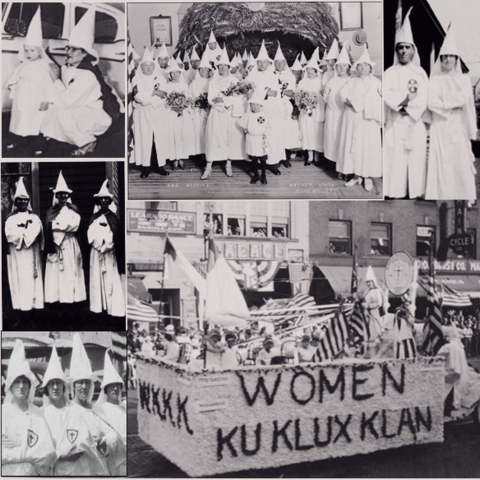 Women of the KKK was formed (WKKK)