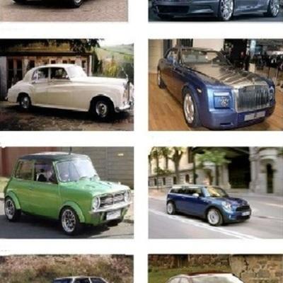 Evolución de los Automoviles timeline