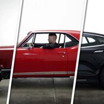 Evolución del Automóvil. timeline