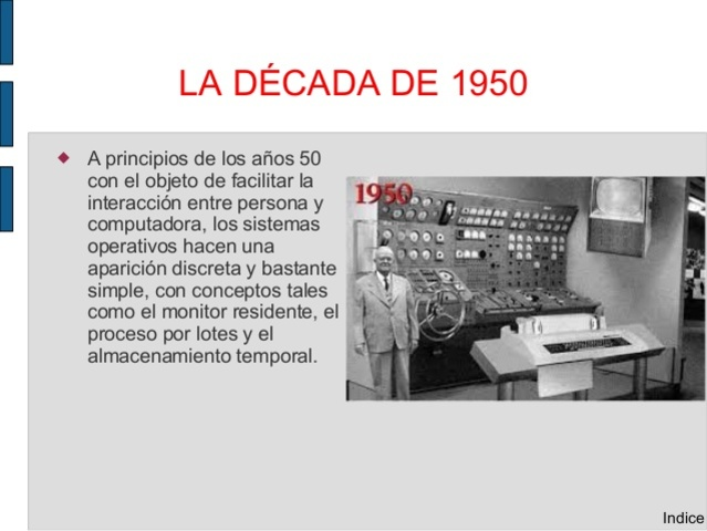 GENERACIÓN UNO (1950)