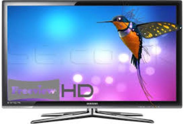 onceava generación del televisor