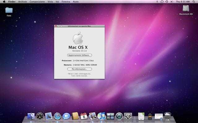 2007 Mac OS X v10.5