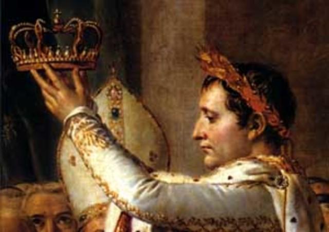 Proclamación de Napoleón como emperador de Francia.