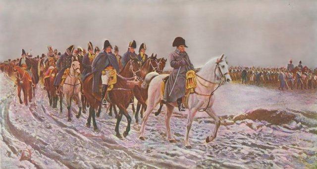 Napoleón prepara la invasión a Rusia.