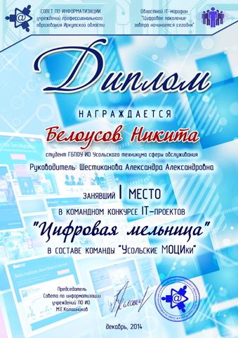 Цифровая мельница 2014