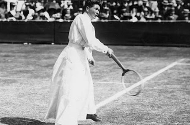 Charlotte Cooper, la primera ganadora de una competencia olímpica