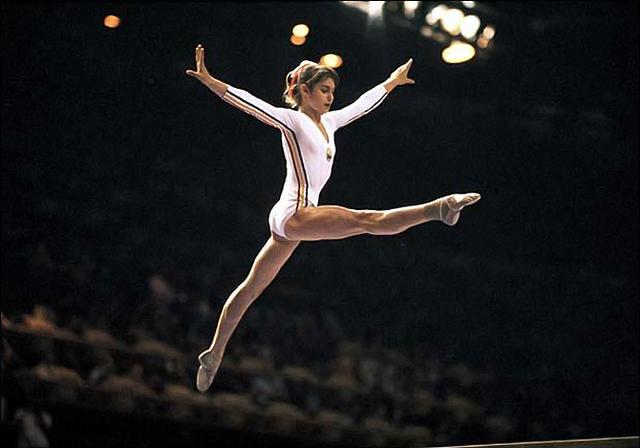 Nadia Comăneci: 5 medallas y puntaje perfecto a los 14 años