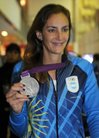 Luciana Aymar, la deportista argentina con más medallas