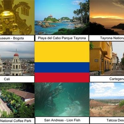 HISTORIA DEL TURISMO EN COLOMBIA  timeline
