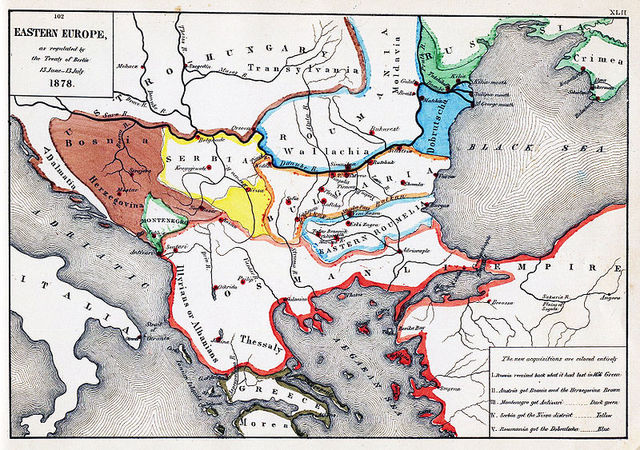 Tratado de Berlín.
