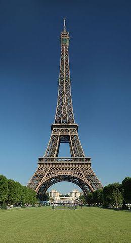 Inauguración de la Torre Eiffel.